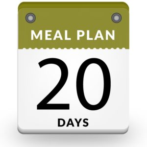 20 days vegan meal plan dubai