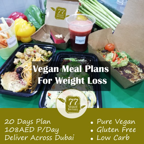 Healthy Vegan Meal Plans For Weight Loss Plant Power Dubai Abu