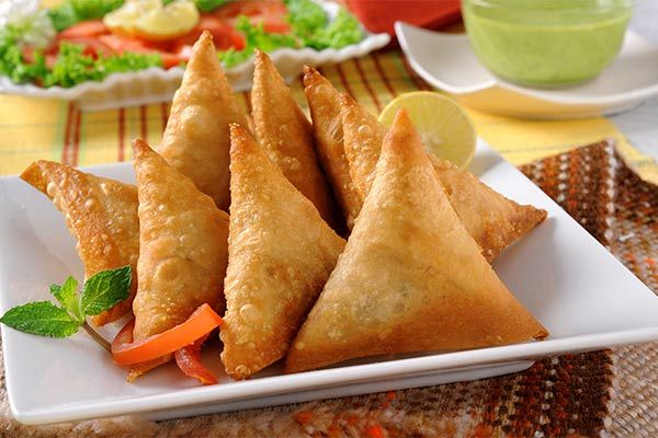 None Fried Summer's Samosa